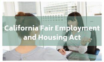 california fair housing and employment act