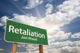 Retaliation Road Sign