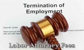 labor attorney fees