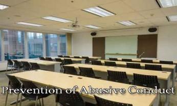 prevention of abusive conduct, labor law
