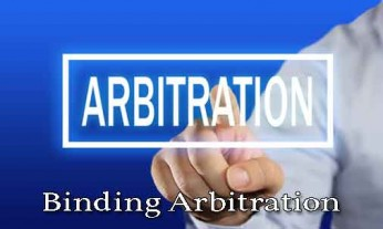 binding arbitration, arbitrations