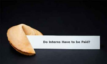 do interns have to be paid