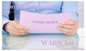 WARN Act, Layoff Violations