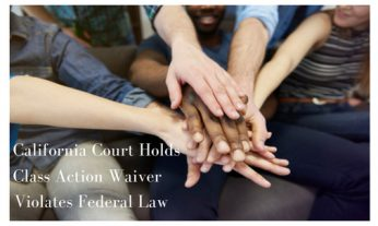 Class Action Waiver