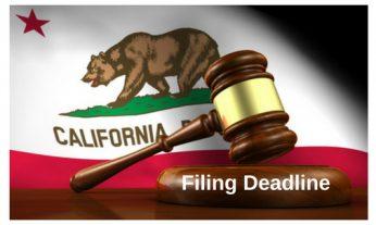 Filing Deadline