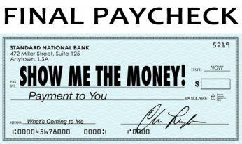 Final Paycheck