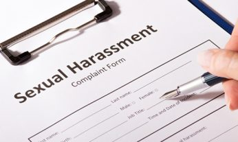 sexual harassment complaint