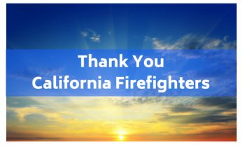 thank you california firefighters