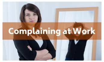 complaining at work