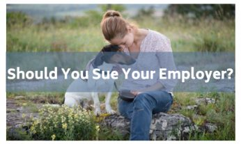 sue your employer
