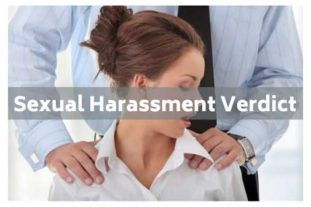 Sexual harassment verdict
